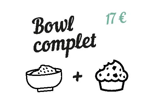 Bowl complet - Chez Estelle Langon