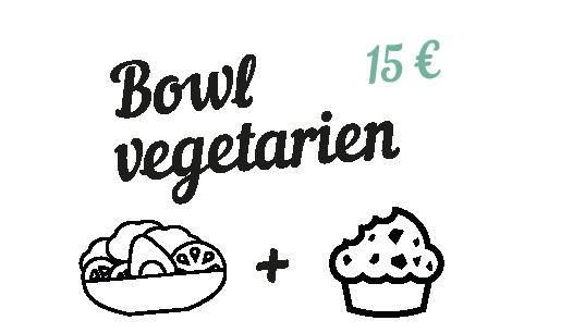 Bowl végétarien - Chez Estelle Langon