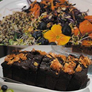 Formule midi – Bowl végétarien + dessert