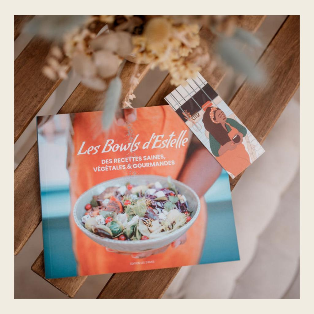 """Livre de recettes """"Les bowls d'Estelle"""""""
