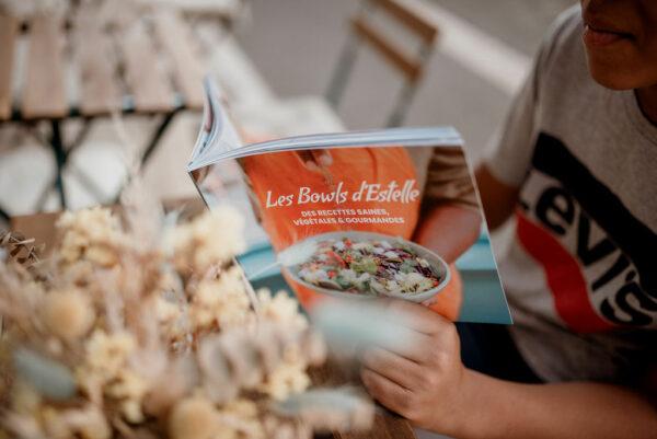 """Le livre de recettes bio et saines """"Les bowls d'Estelle"""""""
