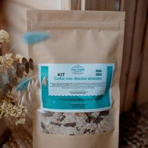 Kit à cookies coco chocolat amandes |  Sans gluten – Sans Lactose